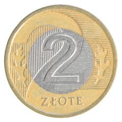 2 Polish Zloty coin