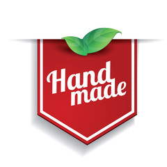 Hand made label ribbon