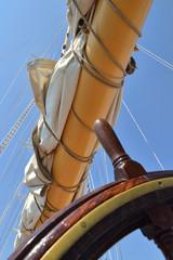 Parte de una Embarcación a Vela