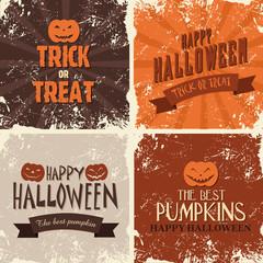 Cadres Rétro Halloween