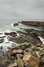 Costa costa rugosa. Mar Cantábrico