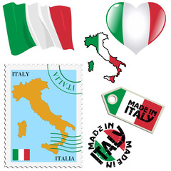 national colours of Italy