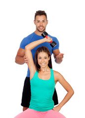 Training with my personal trainer