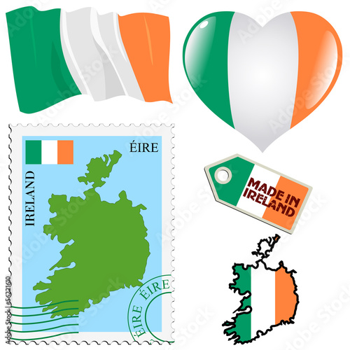 national colours of Ireland