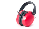 red earmuffs