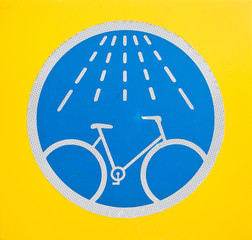 bicycle wash sign