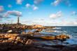 Leinwanddruck Bild - Lighthouse in Cabo Polonio, Rocha, Uruguay
