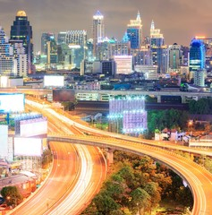 Bangkok downtown Highway