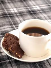 コーヒとチョコクッキー