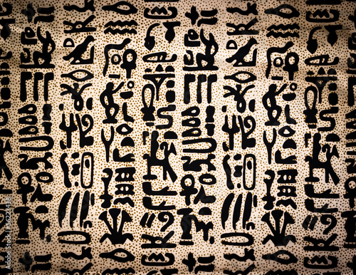 egyptian hieroglyphics texture