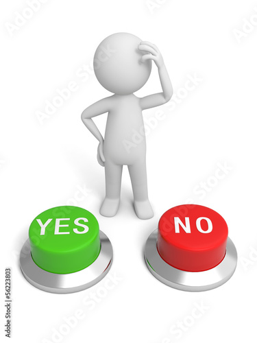 Yes&no button