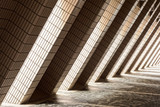 Diagonal Architectural Abstract