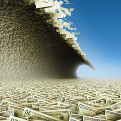 Money tsunami