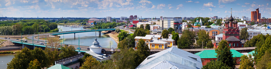 View of Yaroslavl city