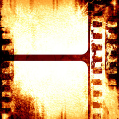 brown filmstrip