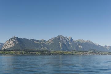 Berner Oberland, Schweizer Alpen, Stockhorn, Thunersee, Schweiz