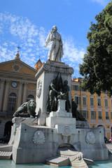 Garibaldi's monument de Nice
