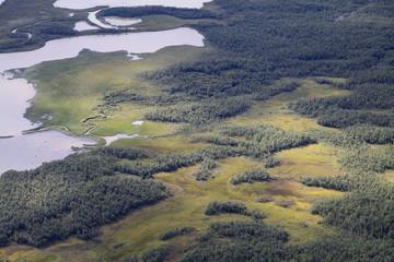 Das Rapatal im schwedischen Teil Lapplands, Sarek