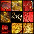 2014, collage Asie zen