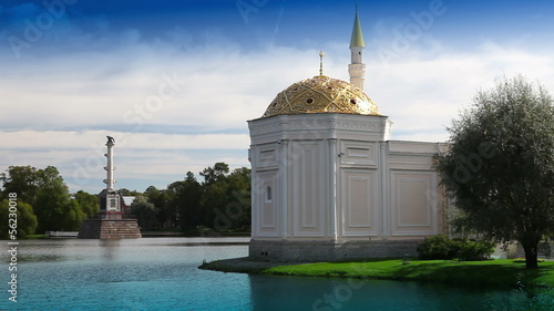 "Pavilion ""Turkish bath"".Catherine Park.Pushkin .Petersburg"
