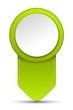 Pfeil Pin grün