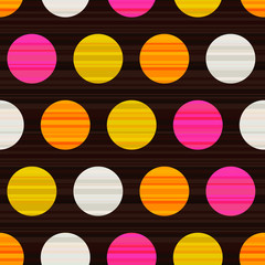 seamless circles background texture