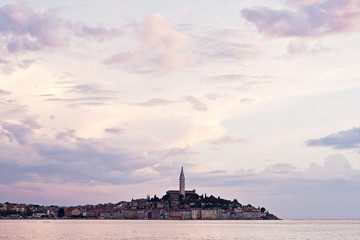Rovinj, evening, decline