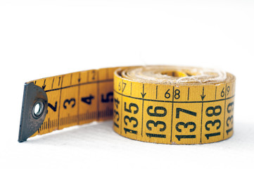 Old tape measure tailoring
