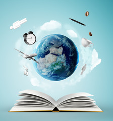 book and earth