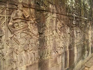 Stone carvings - angkor wat