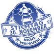 Stempel Stichtag, Autoversicherung und Wechsel zum 30. November