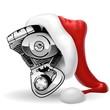 bicilindrico natalizio