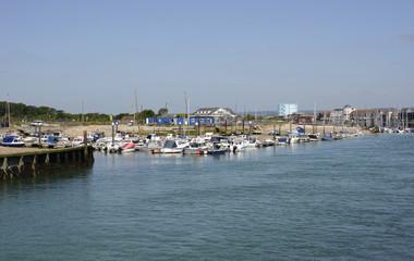 Marina at Littlehampton. Sussex. England