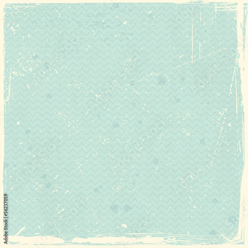 Grunge texture with chevron pattern
