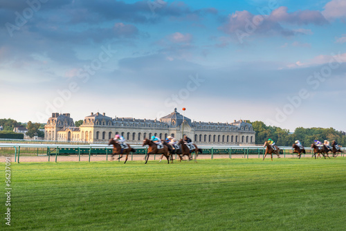 Horserace in Chantilly