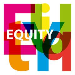 Vector Equity. Broken text