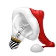 lampadina natalizia