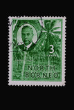 Stamp_vintage_North Borneo