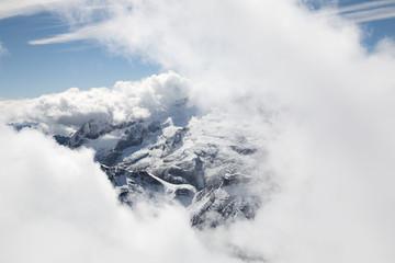 Italian Dolomites - winter landscape