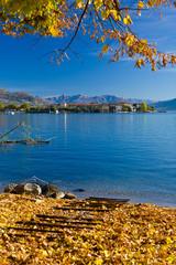 Lago Maggiore in Autunno