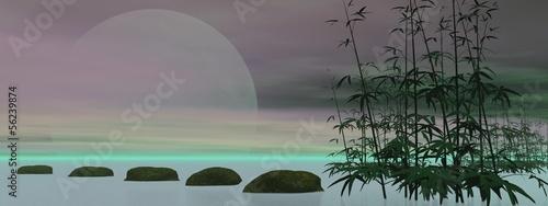 Green zen - 3D render