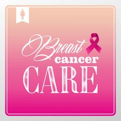 Breast cancer awareness symbols vintage banner concept  EPS10 fi