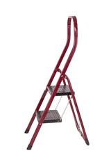 Old red step ladder
