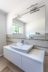 Bright space - washbasin