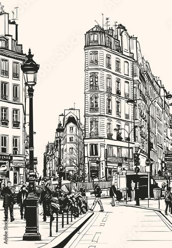 old Paris near Saint Denis - 56243093