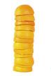 Gestapelte Orangenschalen