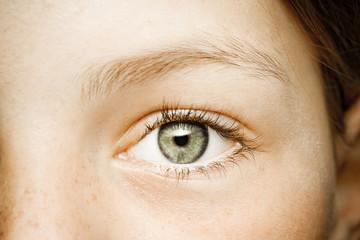 Auge eines Mädchen