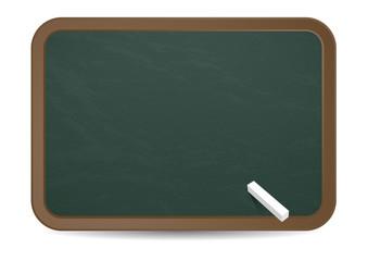 Kreidetafel blank