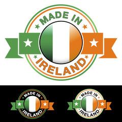 Made In Ireland Badge