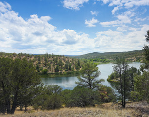 A Lake Roberts View, Gila National Forest
